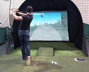 Top Golf Houston Simulator