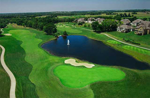 Shoal Creek Golf Course - Aerial View