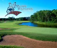 Prairie golf course